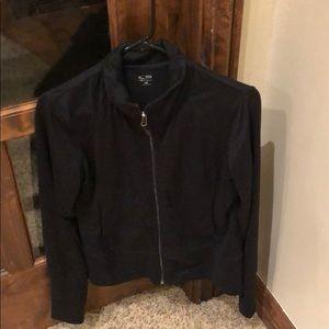 Champion Medium Black Zip Up Jacket
